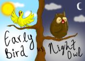 earlybirdvnightowl