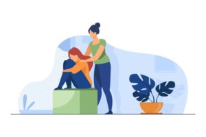 woman-comforting-depressed-friend-giving-support-upset-mate-flat-vector-illustration-friendship-depression-help_74855-13285