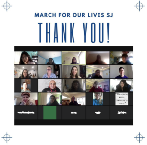 Thank you, March For Our Lives!